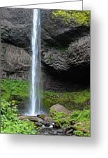 Latourell Falls, Oregon Greeting Card
