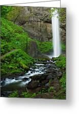 Latourell Falls Oregon Greeting Card