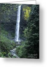 Latourelle Falls-columbia River Gorge Greeting Card
