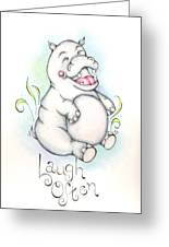 Laugh Often Greeting Card