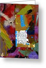 Laugh Play Love Greeting Card