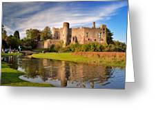 Laugharne Castle 1 Greeting Card