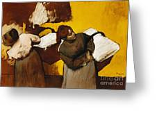 Laundresses Greeting Card