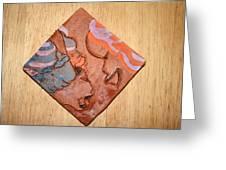 Laundrette - Tile Greeting Card