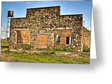 Laura Town Ghost Town In Arkansas  Greeting Card