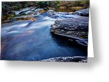 Laurel Flat, Nc - Waterfall Greeting Card