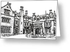 Laurel Hall In Indianapolis Greeting Card by Adendorff Design