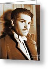 Laurence Olivier, Movie Legend Greeting Card