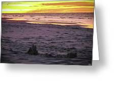 Lauren's Sandcastle Greeting Card
