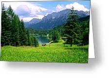 Lautersee Greeting Card