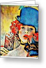 Lautrec Homage Greeting Card