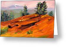 Lava Butte Greeting Card