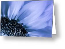 Lavender Blue Silk Greeting Card