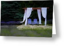 Lavender Breeze Greeting Card