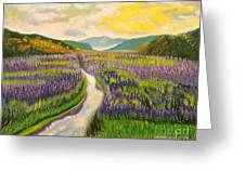 Lavender Brook Greeting Card