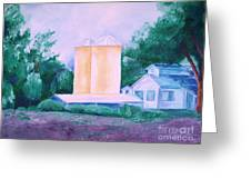Lavender Farm Albuquerque Greeting Card