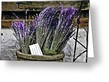 Lavender For Sale Greeting Card