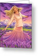 Lavender - Heal Through Joy Greeting Card