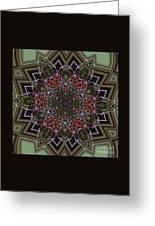 Lavender Mandala Greeting Card