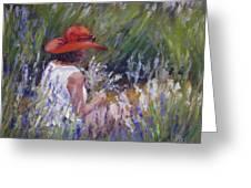 Lavender Treasure Greeting Card