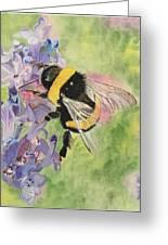 Lavender Visitor Greeting Card