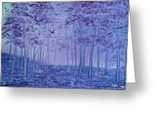 Lavender Woods Greeting Card