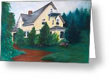 Lavern's Bed And Breakfast Greeting Card