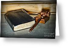 Lawyer - Truth And Justice Greeting Card