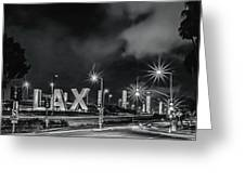 Lax Entry Greeting Card
