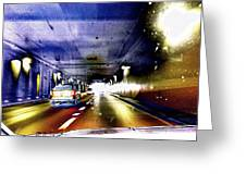 Lax Tunnel Greeting Card
