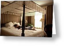 Lay Lady Lay Honeymoon Suite Nantucket Greeting Card