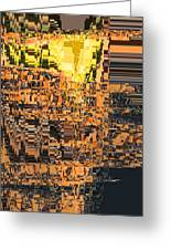 Layers Of Civilizations Greeting Card