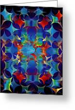 Layers Of Color 3 Greeting Card