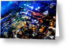 Layers Of Color And Light Greeting Card by Terril Heilman
