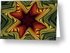 Layers Of Color Greeting Card