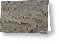 Layers Of Erosion Greeting Card