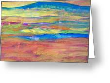 Layers Of Light Greeting Card