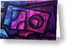 Layers Of Pandora Greeting Card