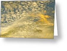 Layers Of Sky Greeting Card