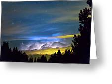 Layers Of The Night Greeting Card