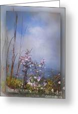 Layers Of Wildflowers Greeting Card