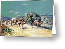 Lazerges 1900 Greeting Card