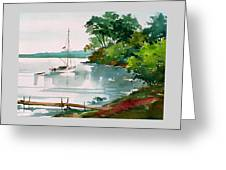 Lazy Cove Greeting Card