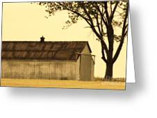 Lazy Days Barn  Greeting Card