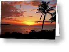 Lazy Sunset Greeting Card