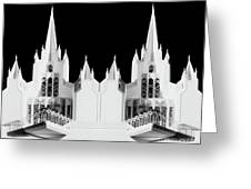Lds - Twin Towers 2 Greeting Card