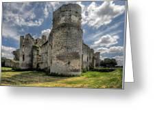Le Bois Thibault Chateau Greeting Card
