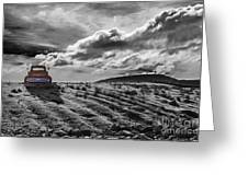 Le Camion Rouge Greeting Card