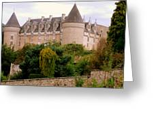 Le Chateau De Rochechouart Greeting Card