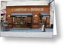 Le Comptoir De Mathilde Greeting Card